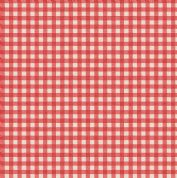 Lewis & Irene Farmers Market - 5358 - Rustic Gingham in Red - A213.3 - Cotton Fabric